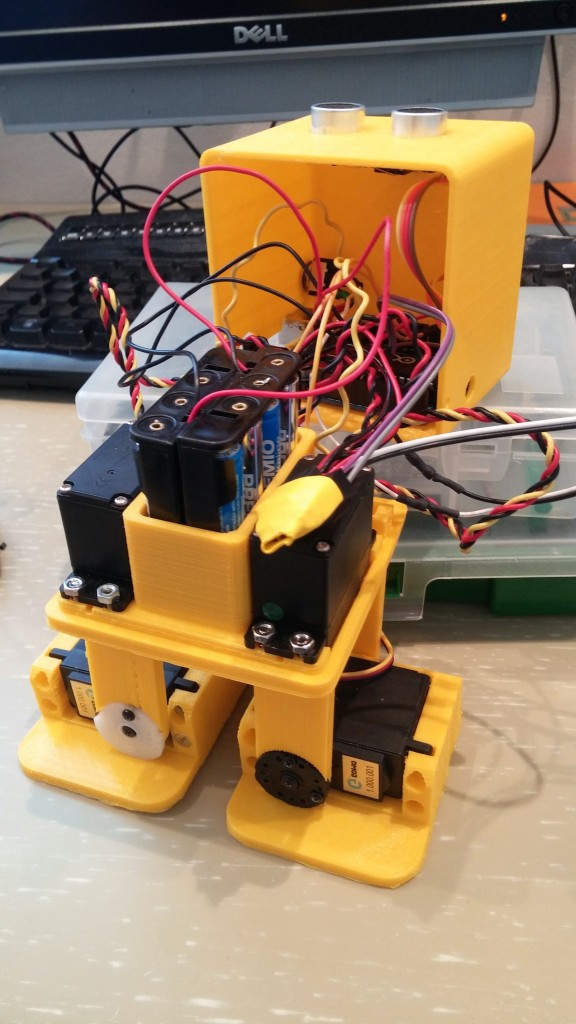Building zowi the open source robot